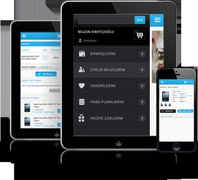 Mobil Özellikli E-Ticaret Yazılımı